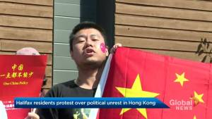 Hundreds rally in Halifax over Hong Kong political unrest