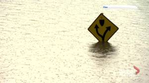 Saskatoon homeowners deal with flooding following weekend storm