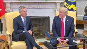 Trump asks if he 'gets credit' for increased NATO defence spending