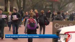 Canadian universities and colleges brace to handle sanctions from Saudi Arabia
