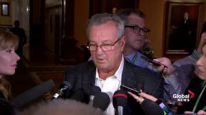 Hillier says he won't presume there's 'improper motive' on suspension