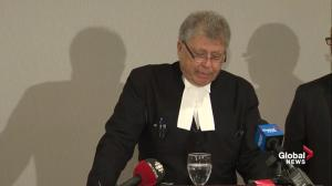 Denis Oland attorney: 'Fortune smiled on us, but it's a sad smile'