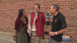 "Todd James catches up with cast of ""Heroine"" at Fringe Festival"
