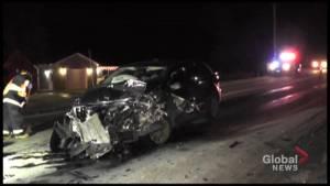 3 injured in head-on collision in Selwyn Township