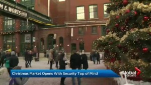 Security heightened as Toronto Christmas Market kicks off