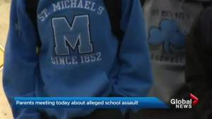 Urgent parent meetings at St. Michael's College in wake of alleged assault
