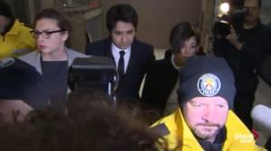 Jian Ghomeshi arrives in court Thursday