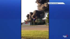 Fire breaks out at school in east-central Alberta town of Sedgewick