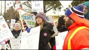 Rally in Port Hope protests changes to Autism support program