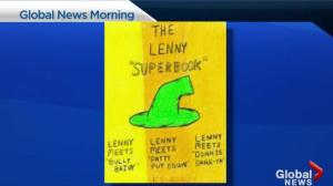 Lenny Books teaches kids how to deal with difficult behaviors