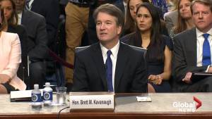 Democrats call for adjournment of Supreme Court nominee Brett Kavanaugh's confirmation hearing