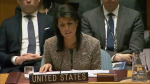 'If war comes, the North Korean regime will be utterly destroyed': Nikki Haley