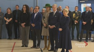 Belgian royal family visits school in Montreal North