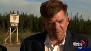 Wildrose leader Brian Jean says he thinks Fort McMurray will bounce back from disaster (00:39)
