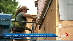 Growing green trend in single family homes