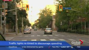 Speed limits lowerd on Richmond and Adelaide streets in downtown Toronto