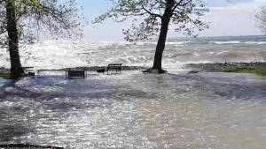 Wolfe Island residents dealing with harsh spring flood