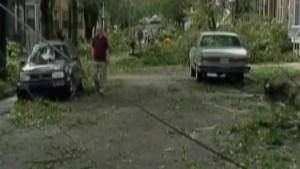 Hurricane Juan 14 years later