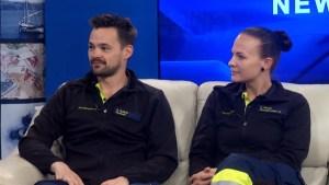 Paramedics swap jobs with Canadian counterparts