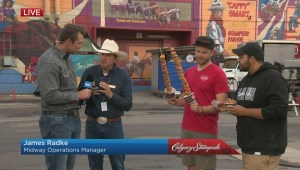 Calgary Stampede mini donuts celebrate 50 years at midway
