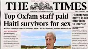 Oxfam CEO resigns in wake of Haiti sex abuse scandal