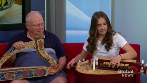 Showcasing medieval instruments at Saskatchewan Woodworkers Guild