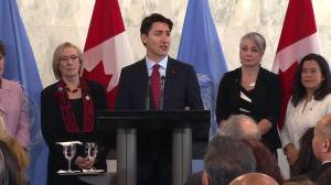 PM begins Canada's campaign to rejoin UN Security Council with strong stance on Syria