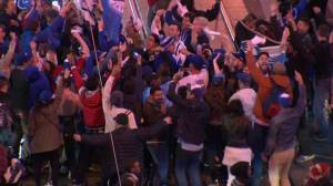 'Let's play ball!': Blue Jays fans across Toronto celebrate Game 5 win