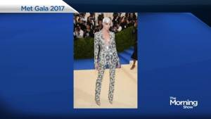 Weird and wacky fashion at the Met Gala