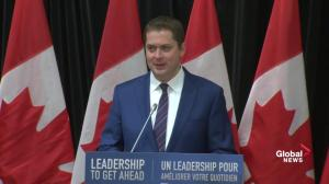 Everyday Canadians can't afford 4 more years of Trudeau: Scheer