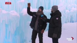 Edmonton's Ice Castles lead artist explains how it will keep growing