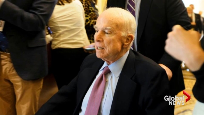 White House aide dismissed McCain's views because 'he's dying anyway' – report