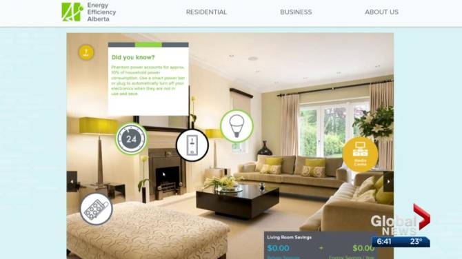 WATCH ABOVE The Alberta Government Created Two Online Tools To Help Residents Make Their Homes More Energy Efficient And Outline Rebates That Could