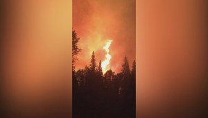 Fighting wildfires raging in B.C.