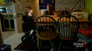 Calgary teen in wheelchair upset over obstacles at the movie theatre