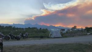Campers in southern Alberta breath sigh of relief after fire sparks near Waterton Lakes National Park