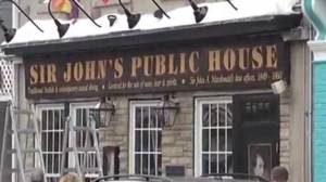 A pub in Sir John A. MacDonald's hometown has decided to part with his name