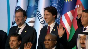 Trudeau attends first G20 meeting with focus on climate change and infrastructure