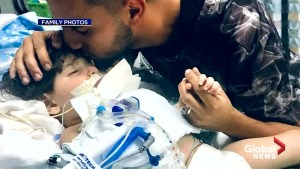 Yemeni mother wins travel ban battle to see her dying son in a California hospital