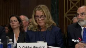 Christine Blasey Ford says '100 per cent' certainty Brett Kavanaugh assaulted her