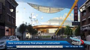 New Central Library enters final phase of construction