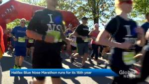 Blue Nose marathon a major milestone for runner with multiple sclerosis