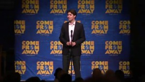 Justin Trudeau speaks about Canada-U.S. friendship at 9/11 musical 'Come From Away'