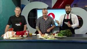Edmonton's Eat North prepares a peppercorn salami vinaigrette