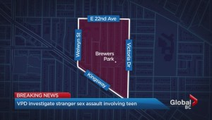 14-year-old girl attacked in East Vancouver park