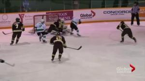 Saskatchewan Huskies hang on to beat Manitoba Bisons 1-0