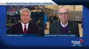 Interview with Alberta Party leadership candidate Stephen Mandel