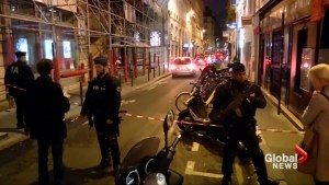 Police on scene of reported knife attack in France