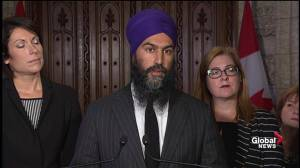 Singh says NDP would've negotiated differently with U.S. over NAFTA