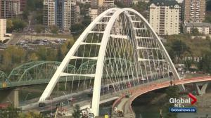 New Walterdale Bridge opens but more work still to be done